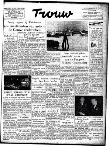 Trouw / De Rotterdammer 1953-11-30