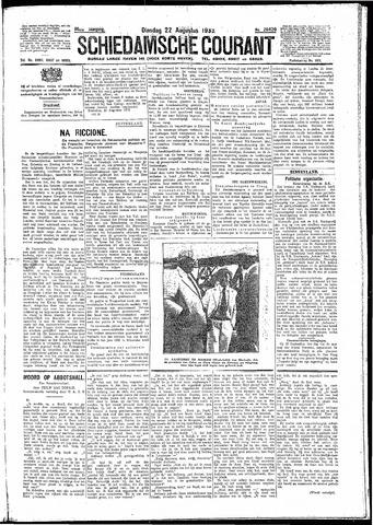 Schiedamsche Courant 1933-08-22