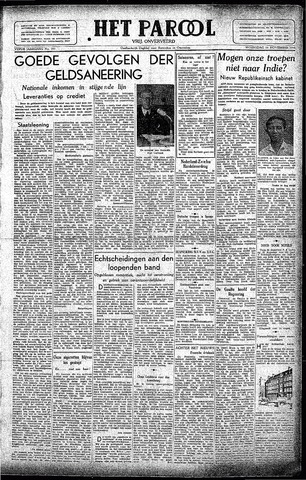 Rotterdamsch Parool / De Schiedammer 1945-11-14