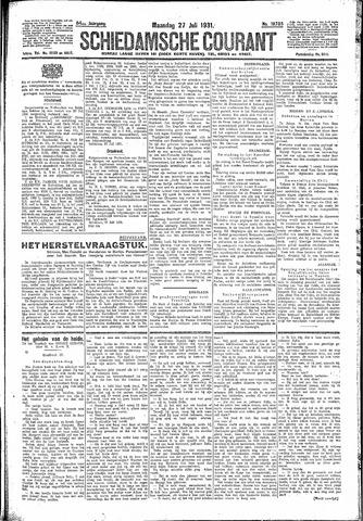 Schiedamsche Courant 1931-07-27