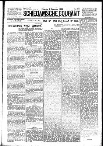 Schiedamsche Courant 1929-11-02