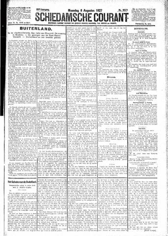 Schiedamsche Courant 1927-08-08