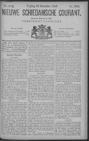Nieuwe Schiedamsche Courant 1886-12-24