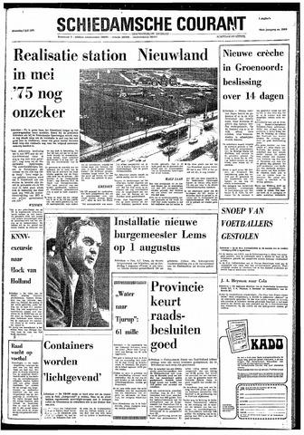 Rotterdamsch Nieuwsblad / Schiedamsche Courant / Rotterdams Dagblad / Waterweg / Algemeen Dagblad 1974-07-03