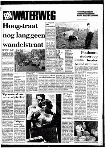 Rotterdamsch Nieuwsblad / Schiedamsche Courant / Rotterdams Dagblad / Waterweg / Algemeen Dagblad 1985-06-05