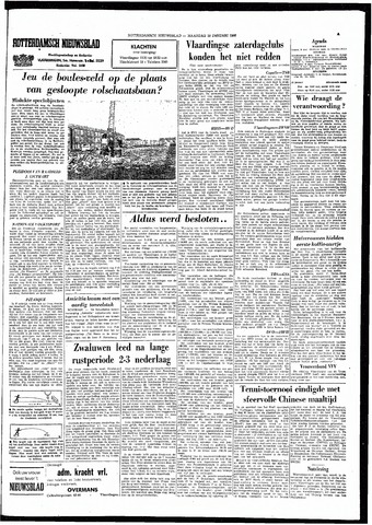 Rotterdamsch Nieuwsblad / Schiedamsche Courant / Rotterdams Dagblad / Waterweg / Algemeen Dagblad 1966-01-10