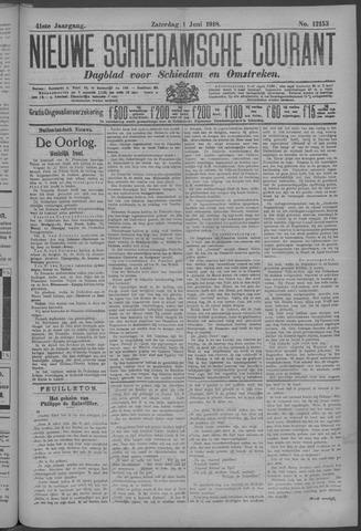 Nieuwe Schiedamsche Courant 1918-06-01