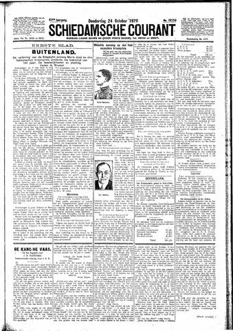 Schiedamsche Courant 1929-10-24