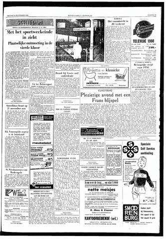 Rotterdamsch Nieuwsblad / Schiedamsche Courant / Rotterdams Dagblad / Waterweg / Algemeen Dagblad 1959-11-13
