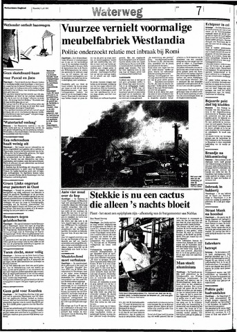 Rotterdamsch Nieuwsblad / Schiedamsche Courant / Rotterdams Dagblad / Waterweg / Algemeen Dagblad 1991-07-08