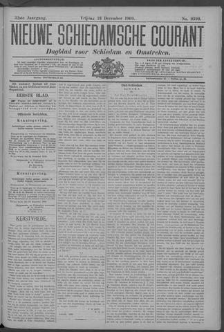 Nieuwe Schiedamsche Courant 1909-12-24