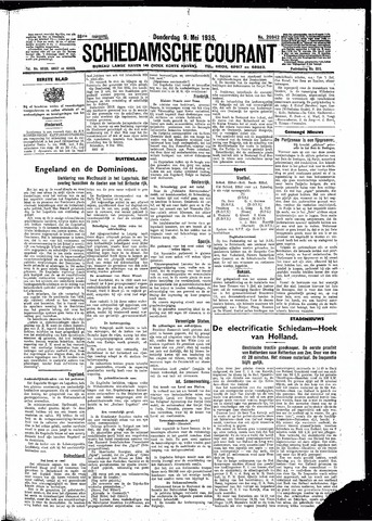 Schiedamsche Courant 1935-05-09