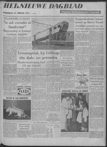Nieuwe Schiedamsche Courant 1961-02-23