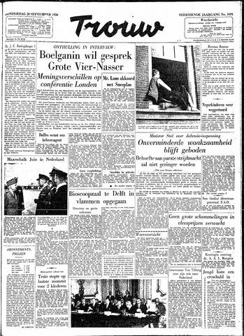 Trouw / De Rotterdammer 1956-09-20