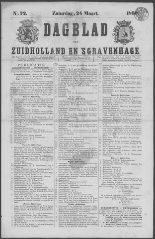 Dagblad van Zuid-Holland 1860-03-24