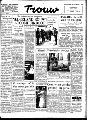 Trouw / De Rotterdammer 1958-09-06