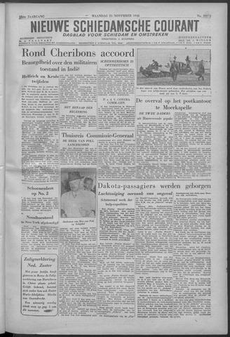 Nieuwe Schiedamsche Courant 1946-11-25