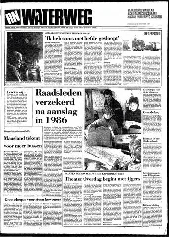 Rotterdamsch Nieuwsblad / Schiedamsche Courant / Rotterdams Dagblad / Waterweg / Algemeen Dagblad 1987-12-23