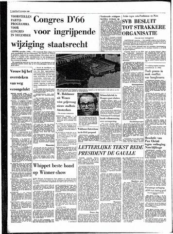 Rotterdamsch Parool / De Schiedammer 1968-11-25