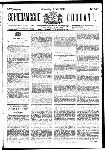 Schiedamsche Courant 1898-05-04