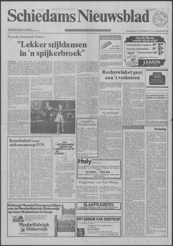 Schiedams Nieuwsblad 1977-12-29