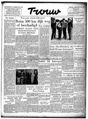 Trouw / De Rotterdammer 1953-02-19