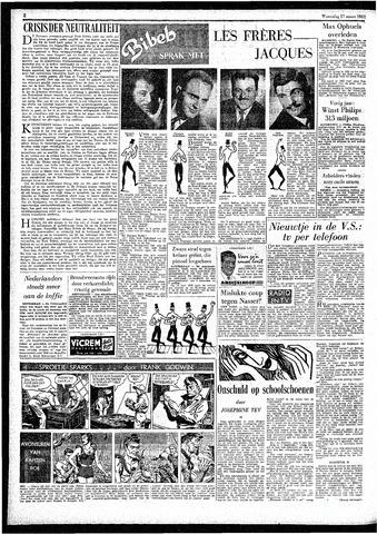 Rotterdamsch Parool / De Schiedammer 1957-03-27