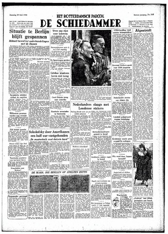 Rotterdamsch Parool / De Schiedammer 1948-06-28