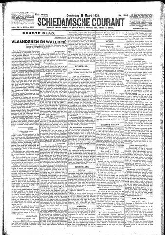 Schiedamsche Courant 1931-03-26