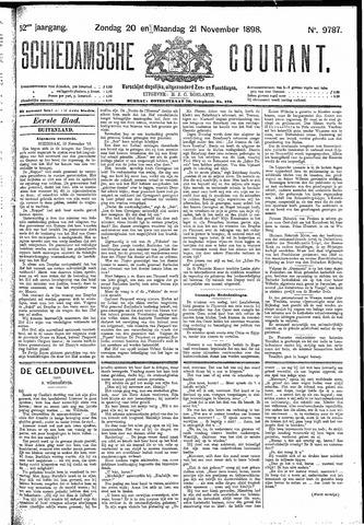Schiedamsche Courant 1898-11-21