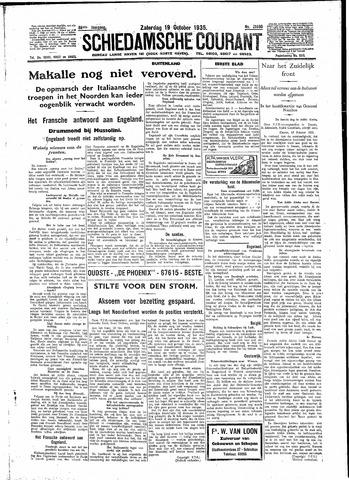 Schiedamsche Courant 1935-10-19