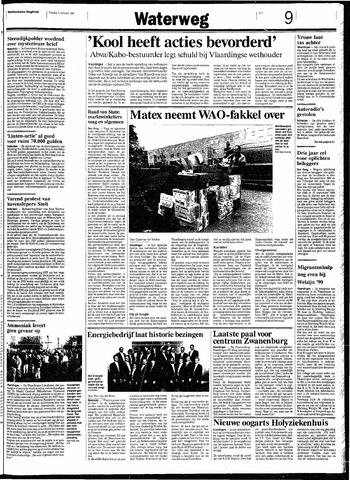 Rotterdamsch Nieuwsblad / Schiedamsche Courant / Rotterdams Dagblad / Waterweg / Algemeen Dagblad 1991-10-04
