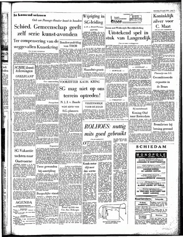 Rotterdamsch Parool / De Schiedammer 1964-04-15