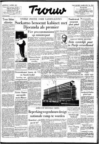 Trouw / De Rotterdammer 1957-04-09