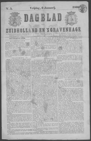 Dagblad van Zuid-Holland 1860-01-06