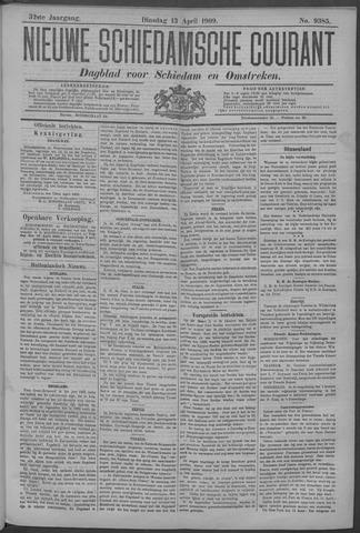 Nieuwe Schiedamsche Courant 1909-04-13
