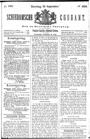Schiedamsche Courant 1877-09-29