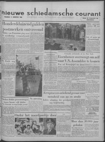 Nieuwe Schiedamsche Courant 1958-08-11