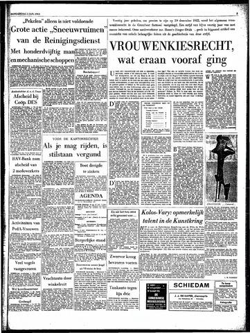 Rotterdamsch Parool / De Schiedammer 1963-01-03