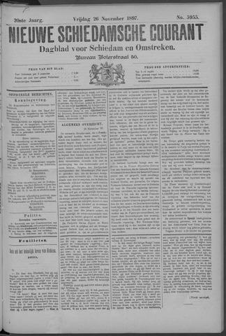 Nieuwe Schiedamsche Courant 1897-11-26