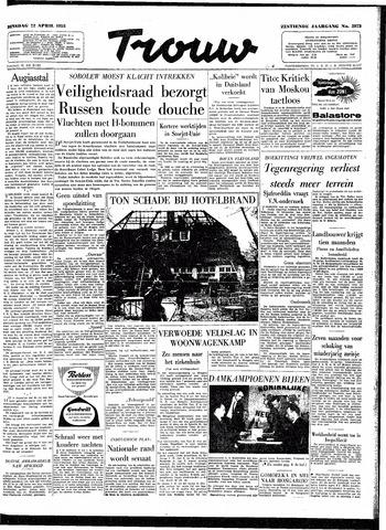 Trouw / De Rotterdammer 1958-04-22