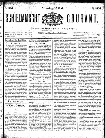 Schiedamsche Courant 1883-05-26