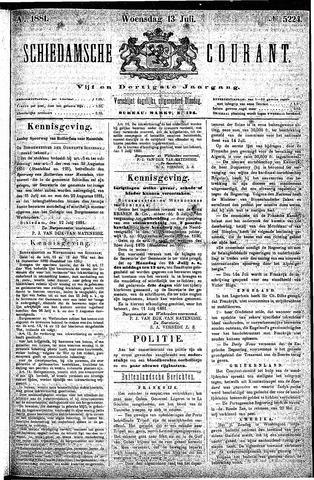 Schiedamsche Courant 1881-07-13