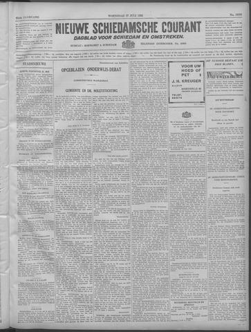 Nieuwe Schiedamsche Courant 1932-07-27