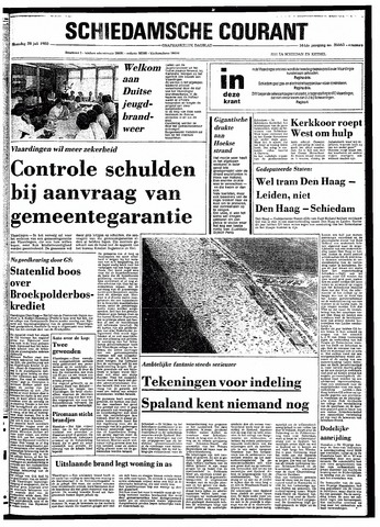 Rotterdamsch Nieuwsblad / Schiedamsche Courant / Rotterdams Dagblad / Waterweg / Algemeen Dagblad 1980-07-28