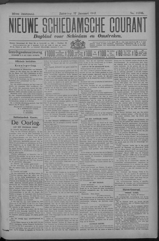 Nieuwe Schiedamsche Courant 1917-01-27