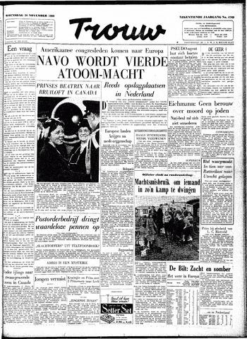 Trouw / De Rotterdammer 1960-11-30