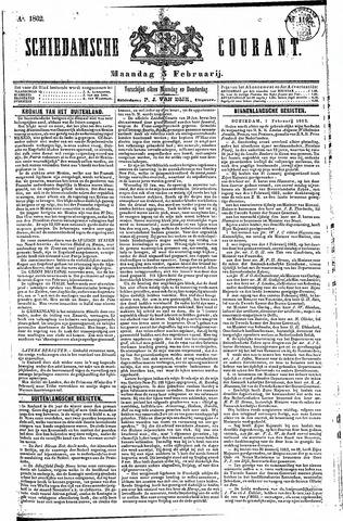 Schiedamsche Courant 1862-02-03