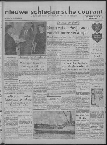 Nieuwe Schiedamsche Courant 1958-11-29