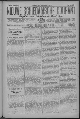 Nieuwe Schiedamsche Courant 1918-09-10